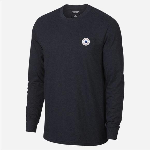 913101a40f3c Converse long sleeve Mens T-shirt